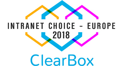 ClearBox - Intranet choice - Europe 2018