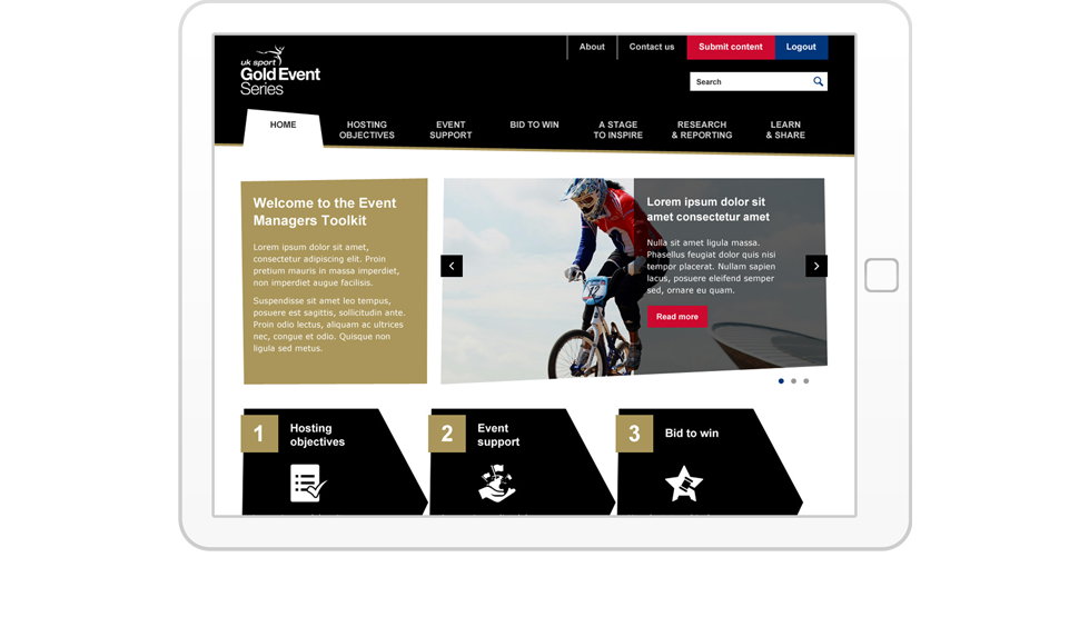 Public sector Sharepoint extranet