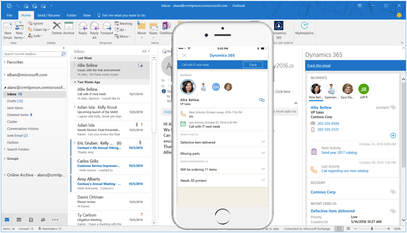 Dynamics 365 integration with SharePoint