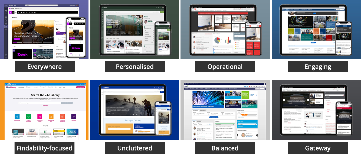 8 great examples of intranet homepage design