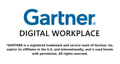 Gartner - Cool vendor 2017 digital workplace