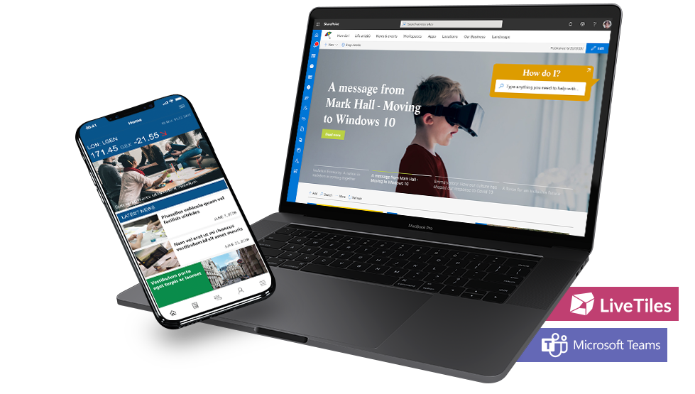Launching a global LiveTiles intranet to deliver a strong digital employee experience